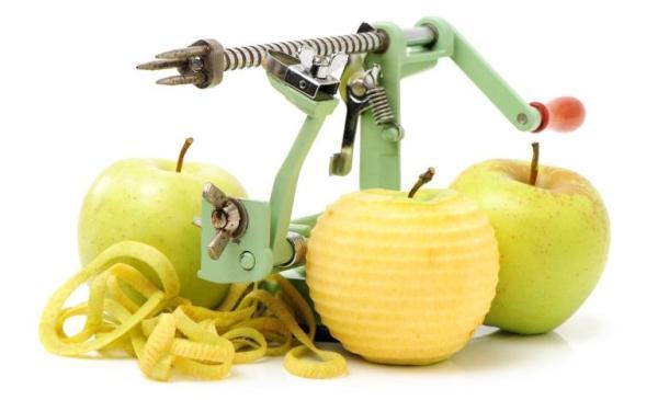 elma temizleme bıçağı